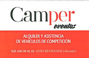 Camper eventos
